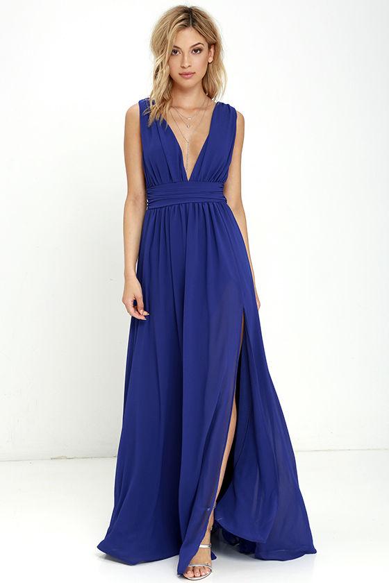 heavenly hues royal blue maxi dress 1 uzrwxvm