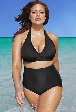 high waisted bikinis diva white dot high waist bikini | swimsuits for all oybygrm