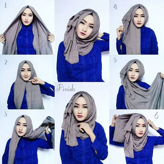 hijab style classic hijab tutorial with volume obpquvo