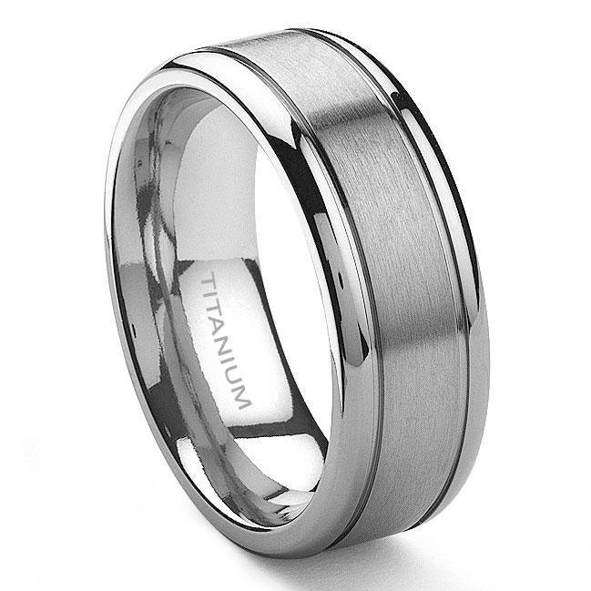 home u003e menu0027s titanium wedding rings · loading zoom zvbfrgl