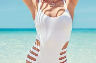 how to pick a white swimsuit that wonu0027t be see-through | glamour gvzipiu