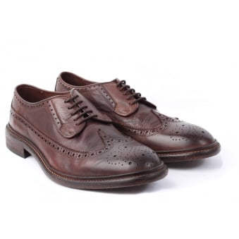 hudson shoes brown somme drum dye brogues gfktgdd