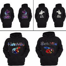 iu0027m hers heu0027s mine cute matching couple hoodies his and her sweatshirts wnzddjj