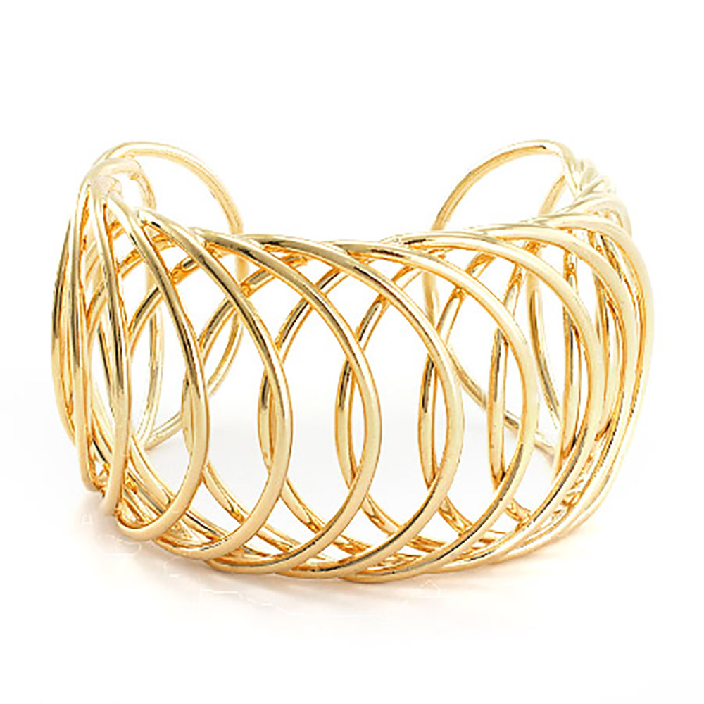 The Elegant Classic Gold Cuff Bracelet