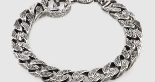 interlocking g chain bracelet in silver - gucci silver bracelets  454285j84000701 najvxyz
