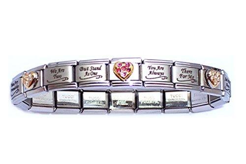 italian bracelets amazon.com: special sister italian charm bracelet: italian style charm  starter bracelets: jewelry mpvezyr