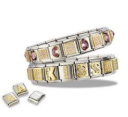 italian bracelets modular design hfmrmle