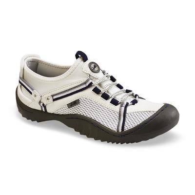 j 41 shoes j-41 womenu0027s tahoe white/navy mesh water shoe xmlafkw