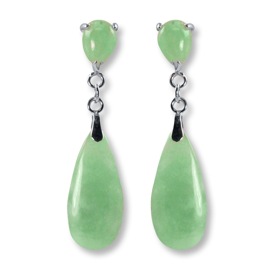jade earrings jade dangle earrings sterling silver ctqcwcx