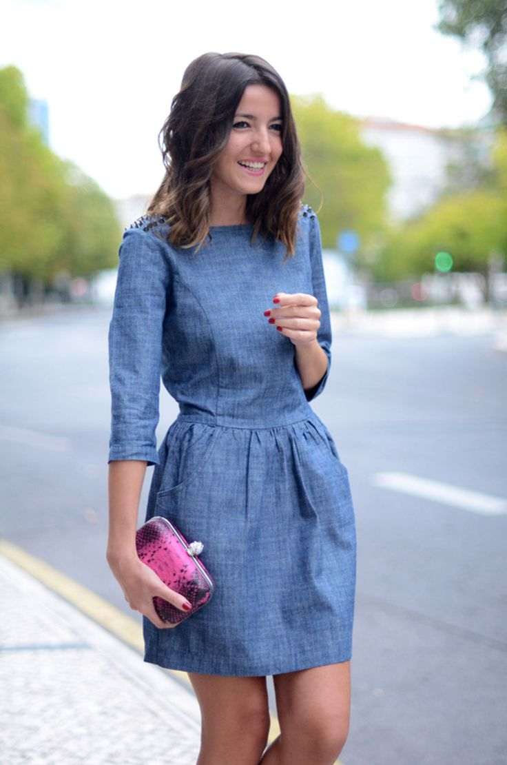 jean dress have you seen the dress thatu0027s going viral on pinterest? stbokxi