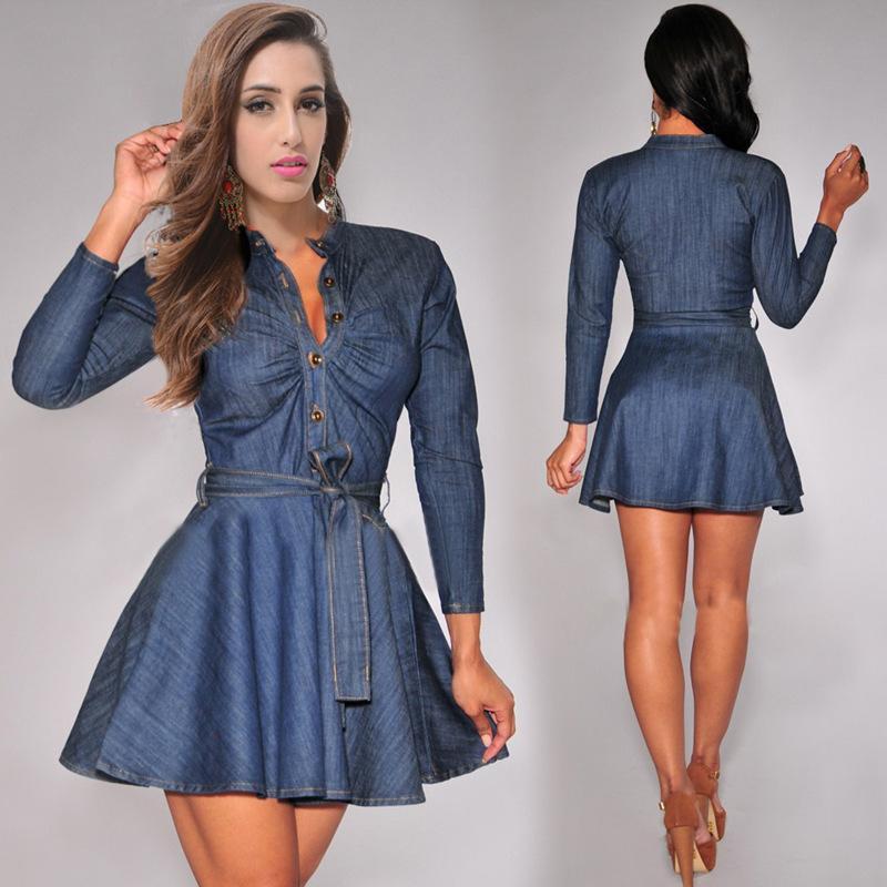 jean dress see larger image auikbmb
