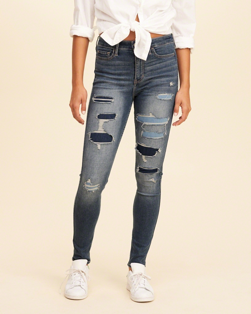 jeans for girls high-rise super skinny jeans exwfbzd