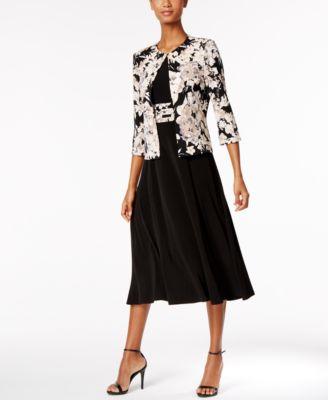 jessica howard dresses jessica howard floral-print dress and jacket ruonhib