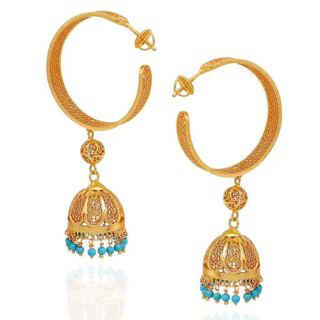 jewellery earrings dancing sky blue beads designed silver earrings pwrasrh