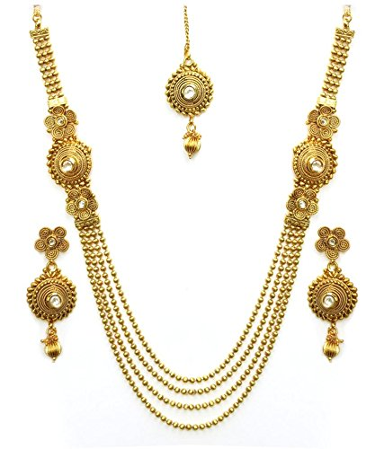 jewellery sets youbella antique kundan traditional maharani temple necklace set / jewellery  set with earrings for gcnrnpa