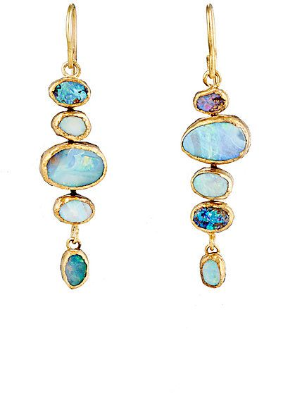 judy geib opal drop earrings - - barneys.com #opalsaustralia womenu0027s  accessories http: cqjvwbj