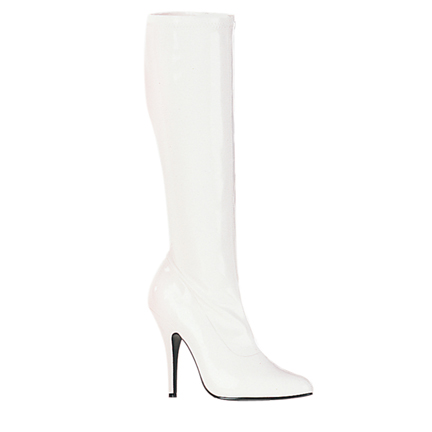 knee high boots - white knee high boots. jnhuxzg