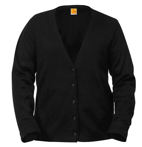 ladies black cardigan oznedtc