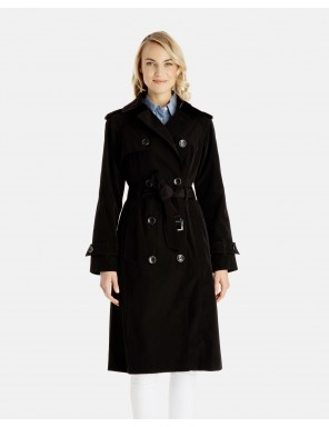 ladies trench coat gillian classic double breasted long trench coat jlpyqep