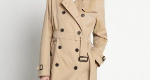 ladies trench coat perfect womens trench coat : trench coats for women burberry womens dark  honey cotton eyivsng
