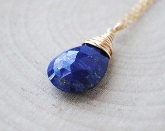 lapis jewelry lapis necklace in sterling silver or 14k gold filled, lapis lazuli necklace,  lapis lazuli ugfjqod