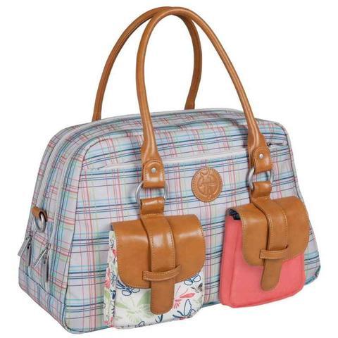 lassig vintage metro nappy bag - candy striped byxzfch