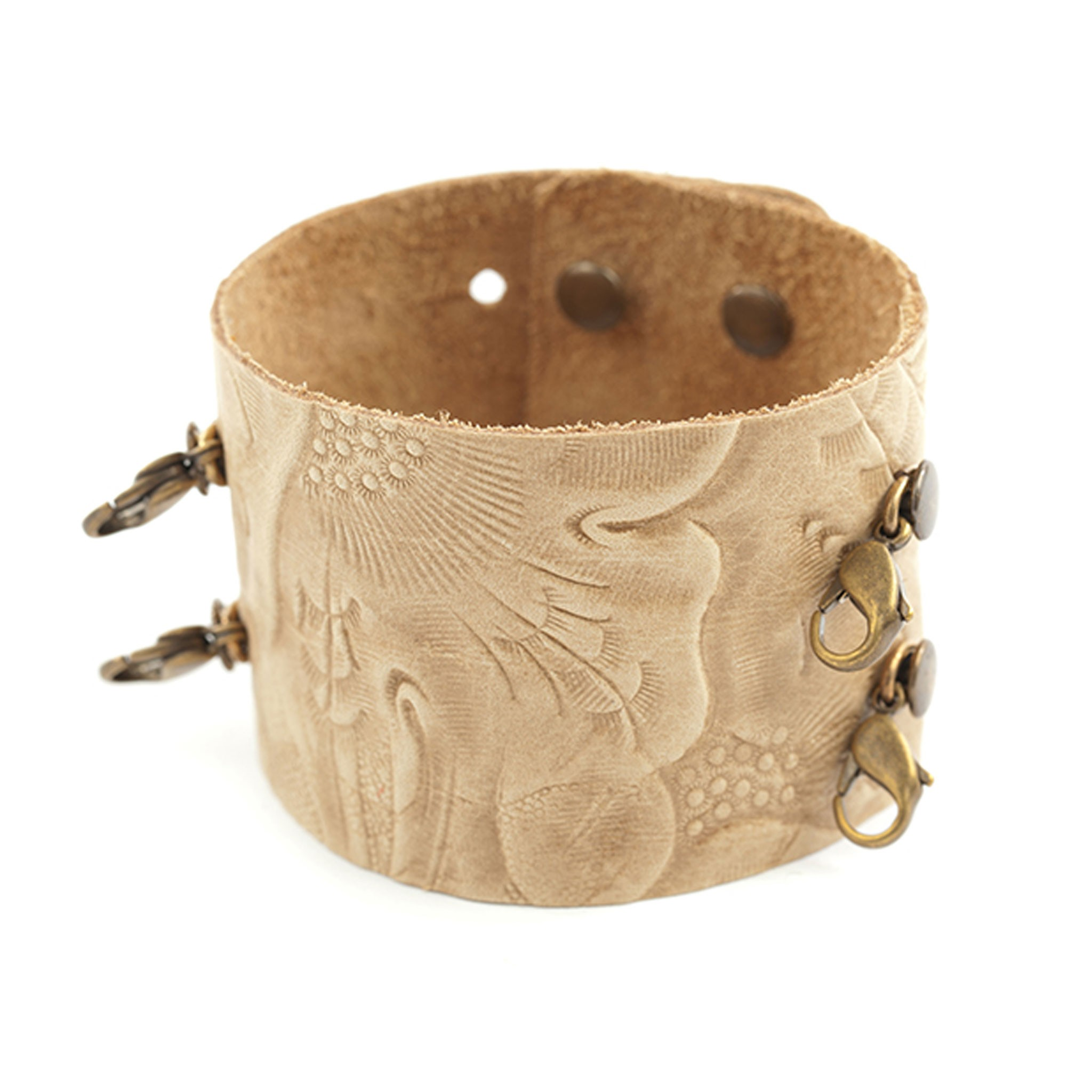 leather cuff bracelet cvokflt