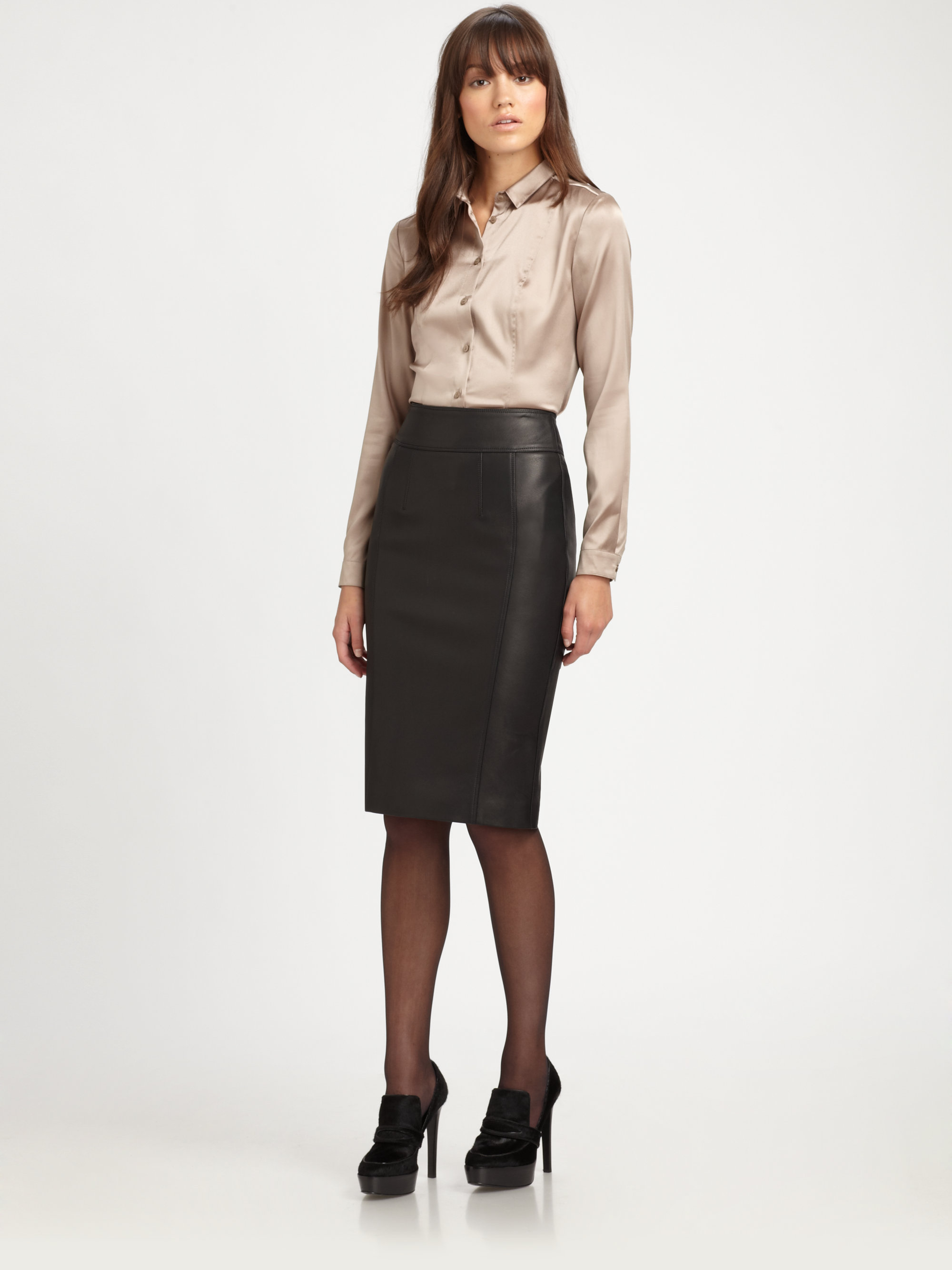 leather pencil skirt gallery crfolzs