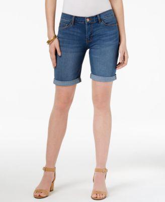 lee platinum petite gunnison bermuda shorts, a macyu0027s exclusive ydnwqns