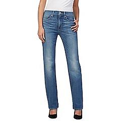 leviu0027s - dark blue straight leg jeans ixxzmhe