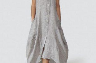 linen clothing grizas marled linen dress hcecapa