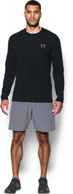 long sleeve shirts menu0027s ua chest logo long sleeve t-shirt 6 colors $29.99 orxpcvy