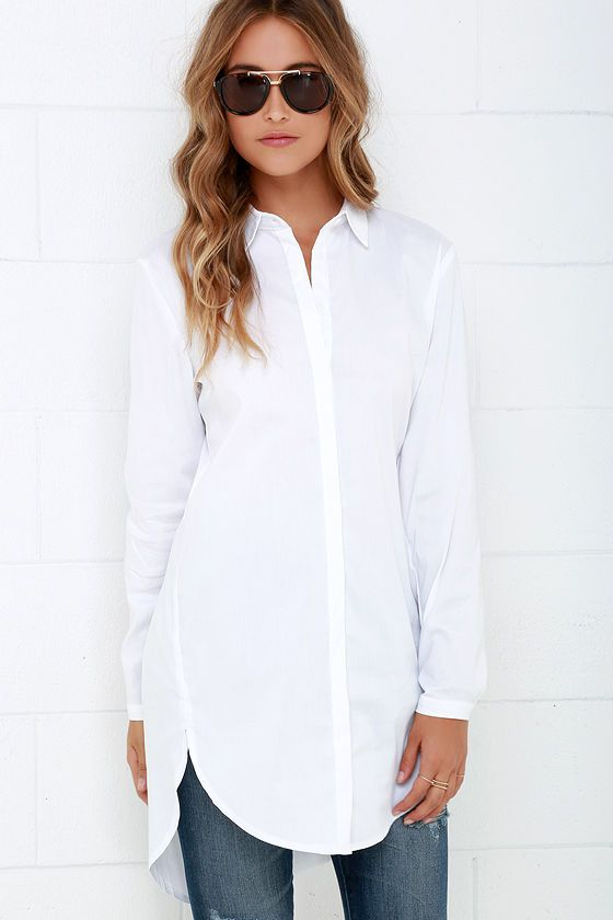 long tunic tops mink pink call me crazy white button-up tunic top. white tunic topslong ... levlzbb