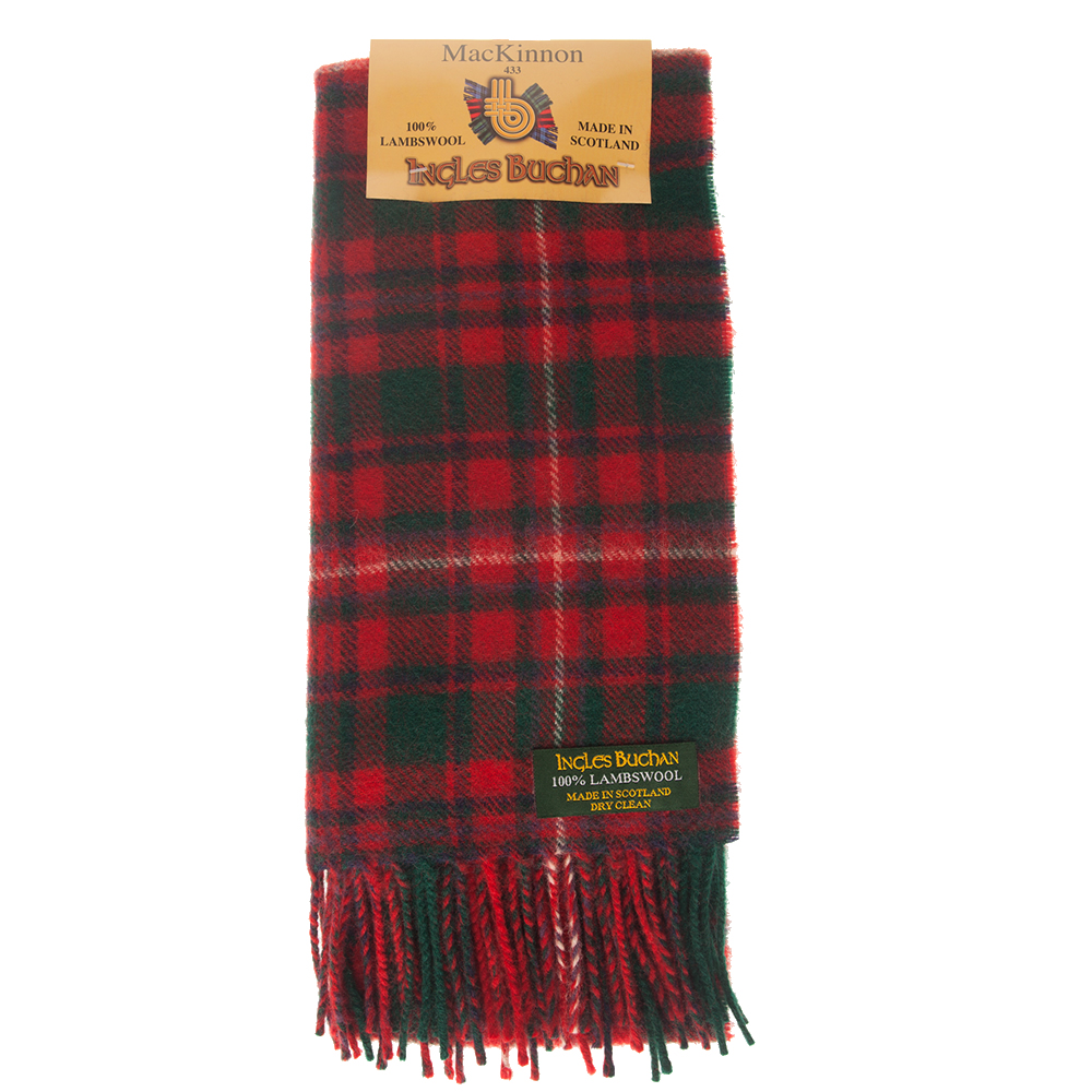 mackinnon red tartan scarf qwxtbvm