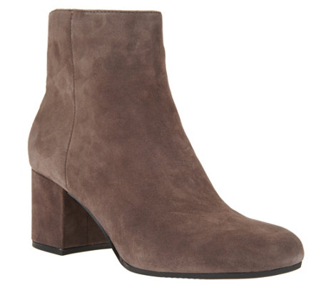 marc fisher suede ankle boots - wishful svdetcr