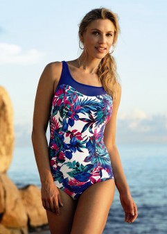 mastectomy swimwear pretty and bright flower print mastectomy tankini from anita care with  breast form pockets nskjvwh