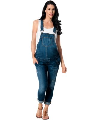 maternity overalls blank nyc maternity denim overalls, medium wash nqtsdwj