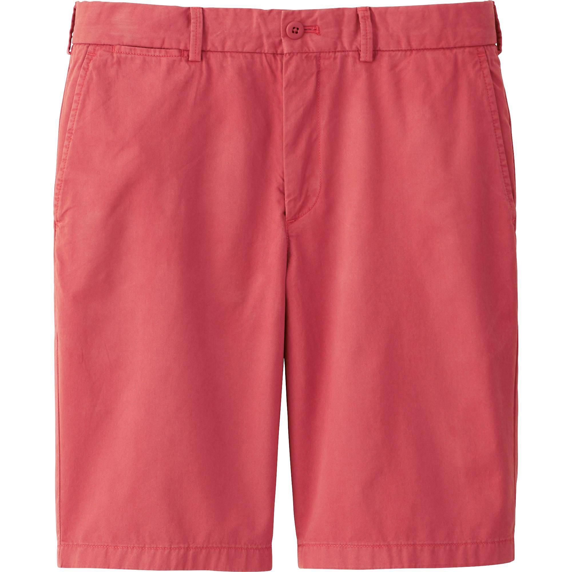 men chino shorts, white, small icvvyzu