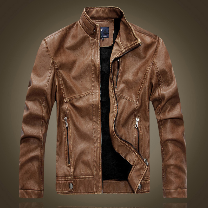 men jackets menu0027s genuine padded leather jacket for men real matte goat skin sheepskin  fashion brand twmcrws
