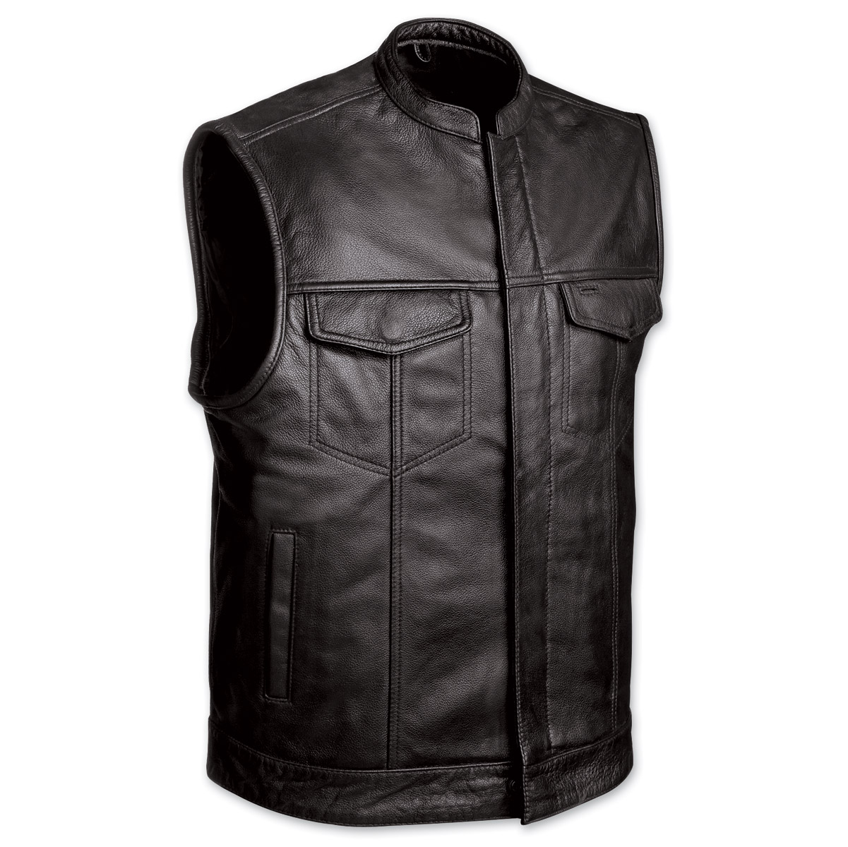 The quality behind the leather vest