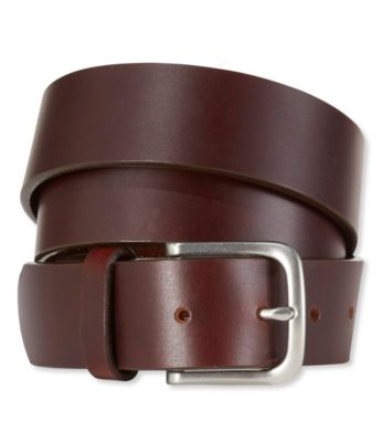 mens belts menu0027s l.l.bean essential leather belt nslitym