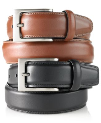 mens belts perry ellis menu0027s big and tall full grain leather belt csjpvkm