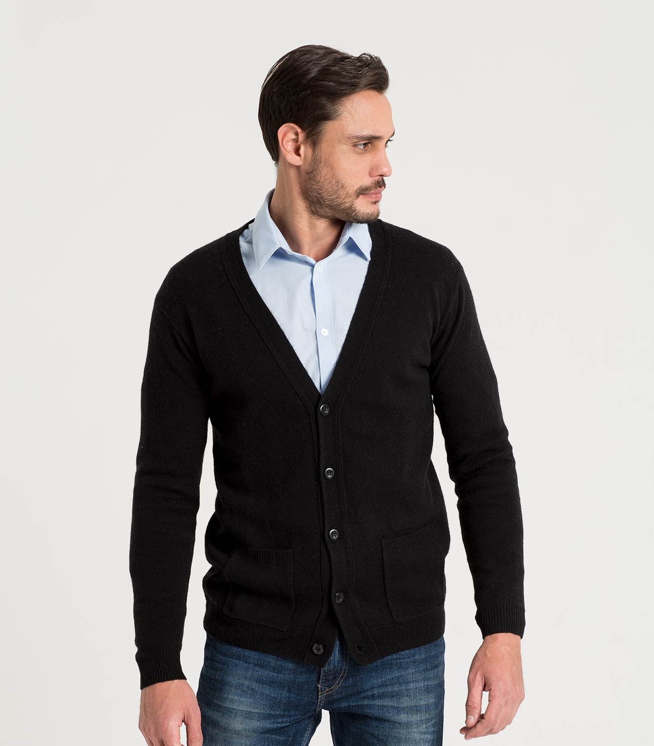 mens cardigans menu0027s v neck cardigan | woolovers xnpdruv