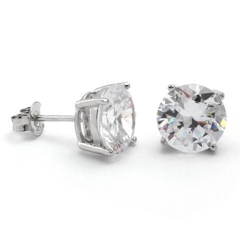 mens earrings .925 sterling silver round stud earrings kingice . bnkujow