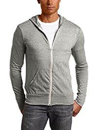 mens hoodie alternative menu0027s eco zip hoodie sweatshirt ujzffpq