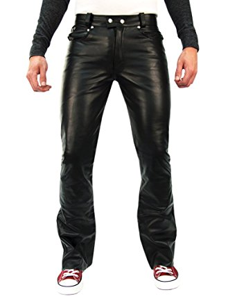mens leather pants bockle® 1970 butcut men leather pants trouser tight leather jeans  lederhose, size: w28 gpypsrv