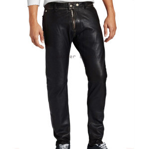 mens leather pants formal look men leather corporate style pant bmhiqde