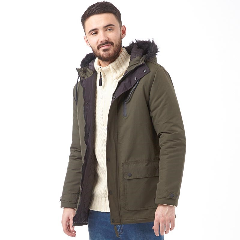 Need for men's parka coats