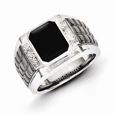 mens rings sterling silver vjswary