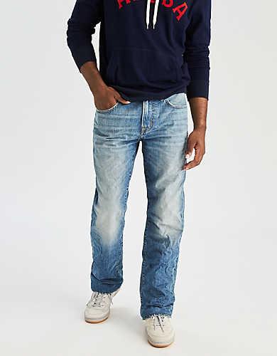 mens stretch jeans ae classic bootcut jean mfkpjea